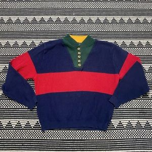 VTG 90s Color-blocked Sweater
